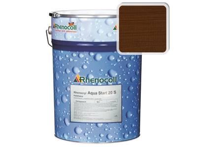 Лак фасадный Rhenocoll Aqua Start 20S тик, шелковисто-матовый 1л Изображение