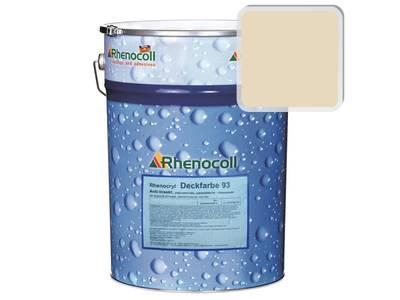 Краска фасадная Rhenocryl Deckfarbe 93A RAL 1015 шелковисто-глянцевая, 1л Изображение