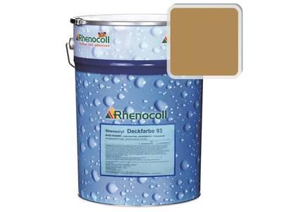 Краска фасадная Rhenocryl Deckfarbe 93C RAL 1011 шелковисто-глянцевая, 1л Изображение