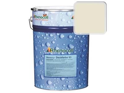 Краска фасадная Rhenocryl Deckfarbe 93A RAL 1013 шелковисто-глянцевая, 1л Изображение