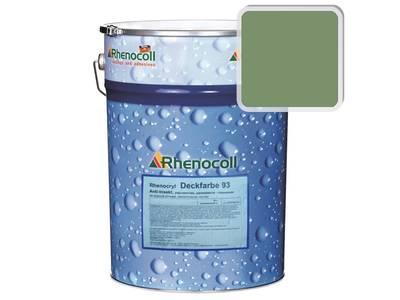 Краска фасадная Rhenocryl Deckfarbe 93C RAL 6011 шелковисто-глянцевая, 1л Изображение