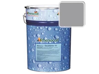 Краска фасадная Rhenocryl Deckfarbe 93C RAL 7004 шелковисто-глянцевая, 1л Изображение