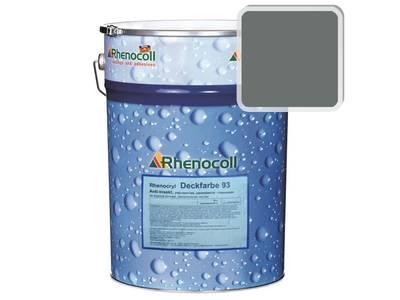 Краска фасадная Rhenocryl Deckfarbe 93C RAL 7005 шелковисто-глянцевая, 1л Изображение