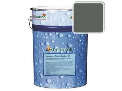 Краска фасадная Rhenocryl Deckfarbe 93C RAL 7009 шелковисто-глянцевая, 1л Изображение
