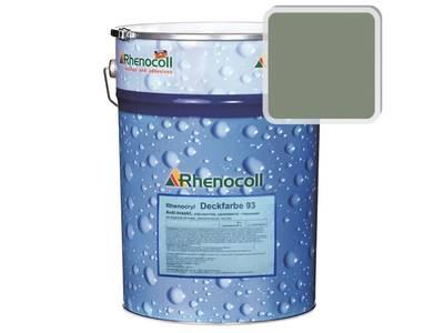 Краска фасадная Rhenocryl Deckfarbe 93C RAL 7033 шелковисто-глянцевая, 1л Изображение