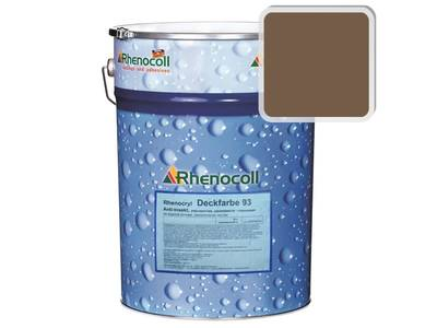 Краска фасадная Rhenocryl Deckfarbe 93C RAL 8025,  шелковисто-глянцевая 1л Изображение