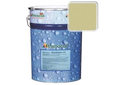 Краска фасадная Rhenocryl Deckfarbe 93C RAL 1000 шелковисто-глянцевая, 1л Изображение