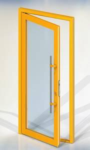 Ручка для алюминиевых дверей из нерж. стали, кронштейны неокраш., двухсторон., L=1000, D=32 Изображение 5