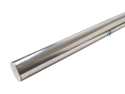 Ручка для алюминиевых дверей со смещением, L=1400, межосевое расстояние=900, D=32, полированная, (1 шт. с 1 креплением, для односторонней установки приобретать с ITM0400) Изображение 2