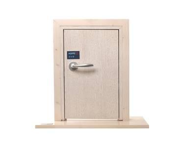 Ручка дверная алюминиевая New York, c раздельной накладкой, алюминий натуральный Изображение 9