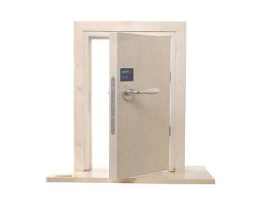 Ручка дверная алюминиевая New York, c раздельной накладкой, алюминий натуральный Изображение 10