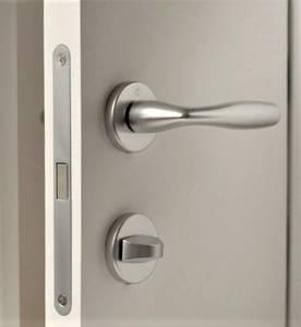 Ручка дверная алюминиевая New York, c раздельной накладкой, алюминий натуральный Изображение 11