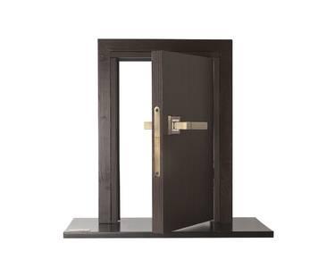 Ручка дверная с раздельной квадратной накладкой, City Dakota, античная бронза Изображение 3