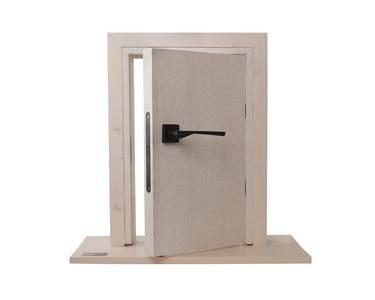 Ручка дверная, с раздельной квадратной накладкой, черная окрашенная матовая Изображение 10