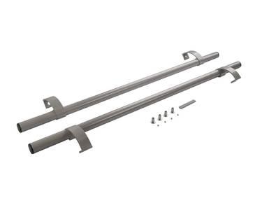 Ручка офисная прямая 1000мм с креплением Серебро RAL9006 Изображение 3