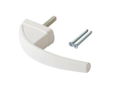 Ручка оконная Roto Swing, 43мм, белая, 2 винта Изображение 3