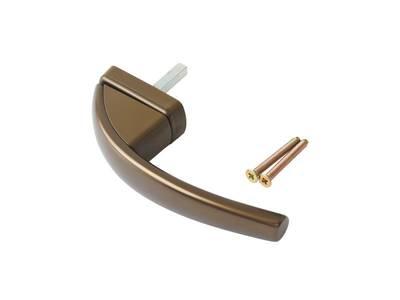 Ручка оконная Roto Swing, 37 мм, темная бронза, без винтов Изображение 3