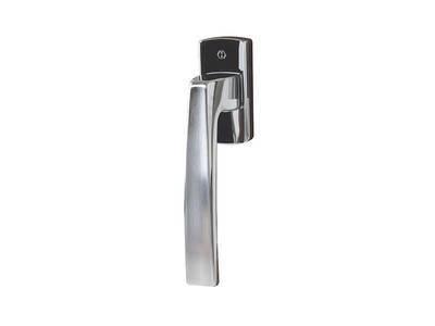 Ручка оконная Hoppe Acapulco Secustik, 35 мм,  хром матовый, латунная, 2 винта Изображение