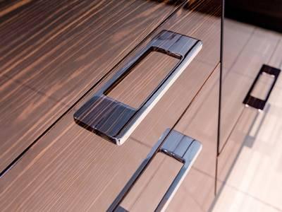 Ручка-скоба 160-192мм FIRMAX, металл, хром Изображение 4