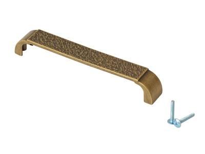 Ручка-скоба 160мм FIRMAX, металл, бронза Изображение 2