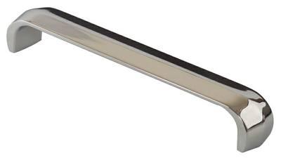Ручка-скоба 160мм, металл, хром Изображение