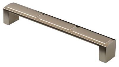 Ручка-скоба 160мм, металл, никель матовый Изображение