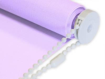 Рулонные шторы однотонные, 140х170 см. Фиолетовый Изображение 6