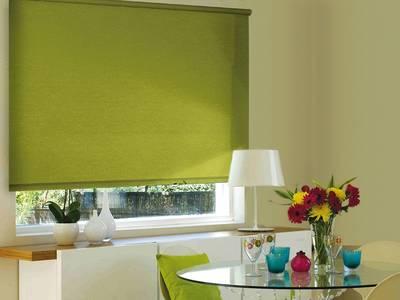 Рулонные шторы однотонные, 57х170 см. Темно-оливковый Изображение 3