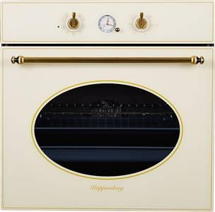 SR 663 C (BRONZ) Электрический независимый духовой шкаф, цвет бежевый/ручка дверцы и переключатели цвета бронзы Изображение