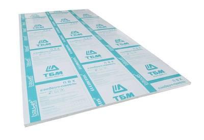 Сэндвич-панель BAUSET Innovation 24х1500х3000 (0,95x0,95) белый матовый 2-х сторонний экструдированный Изображение