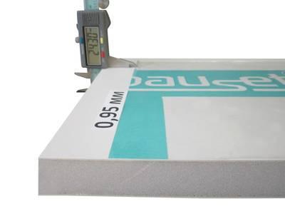 Сэндвич-панель BAUSET Innovation 24х1500х3000 (0,95x0,95) белый матовый 2-х сторонний экструдированный Изображение 2