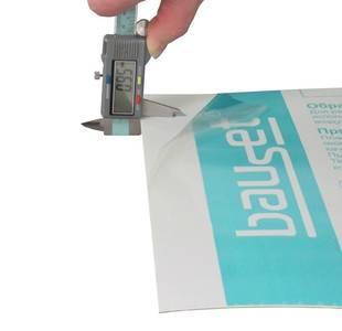 Сэндвич-панель BAUSET Innovation 24х1500х3000 (0,95x0,95) белый матовый 2-х сторонний экструдированный Изображение 3