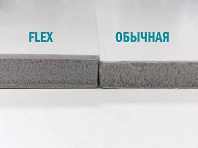 Сэндвич панель матовая ударопрочная Bauset Flex (3000x1500x10 мм, 1.4x1.0 мм, 2-стрн. [Л+П], белый) Изображение 2