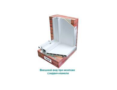 Сэндвич-панель (утепленный откос) Bauset TPL Object 9х1500х3000 мм (0,45х0,4 м), белый матовый Изображение 3