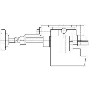 Шаблон для фрезерования для рамной части врезных петель Изображение 2