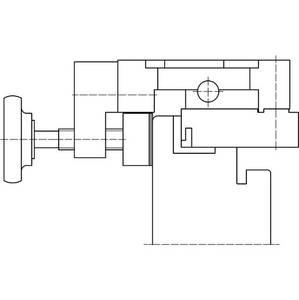 Шаблон для фрезерования для створочной части врезных петель Изображение 2