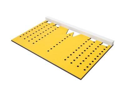 Шаблон для разметки отверстий под мебельные ручки-кнопки и ручки-скобы (96,128,160,192мм ), МШ-22 Изображение 6