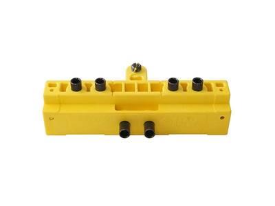 Шаблон для установки петель серии 495 OTLAV MC 701 160 G0 35 (D=14/16 мм, на двери с наплавом) Изображение