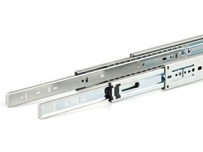 Шариковые направляющие Firmax полного выдвижения, H=45 мм, L=650 мм, цинк (2 части) Изображение