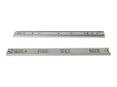Шариковые направляющие Firmax полного выдвижения, H=45 мм, L=650 мм, цинк (2 части) Изображение 4