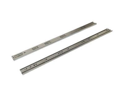 Шариковые направляющие Firmax полного выдвижения, H=45 мм, L=700 мм, цинк (2 части) Изображение 2