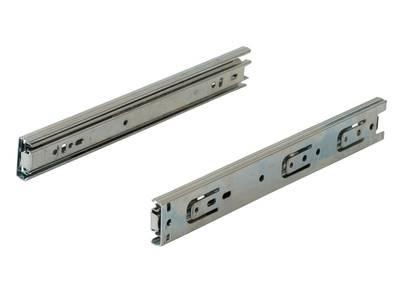 Шариковые направляющие полного выдвижения Firmax Push-to-Open, H=45 мм, L=350 мм Изображение 2
