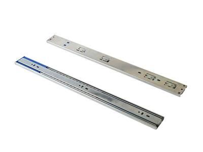 Шариковые направляющие полного выдвижения Firmax Soft-Close 1 пружина, H=45 мм, L=500 мм Изображение 2