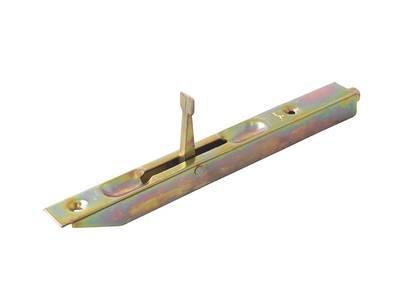 Шпингалет для деревянных дверей 160мм бихром с ответной планкой Изображение 4