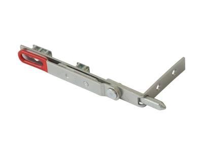 Шпингалет для дверей из ПВХ Roto (150 мм, серебристый) Изображение 2