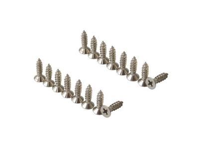Соединители задней стенки из ДСП для 1-го релинга Firmax, серебристый (L+R) Изображение 4