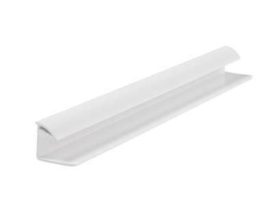 Стартовый профиль дверной QUNELL (St-25 мм, белая) [РАСПИЛ В РАЗМЕР] Изображение