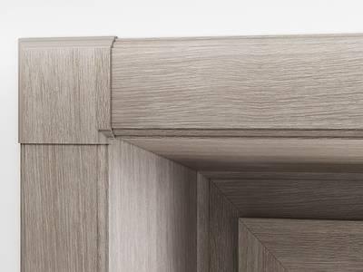 Стартовый профиль дверной QUNELL (St-25 мм, дуб шефилд светлый) [РАСПИЛ В РАЗМЕР] Изображение 3