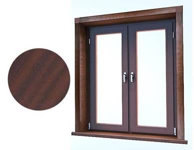 Стартовый профиль дверной QUNELL (St-25 мм, махагон) [РАСПИЛ В РАЗМЕР] Изображение 2