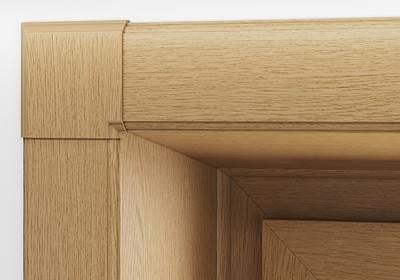 Стартовый профиль дверной QUNELL (St-25 мм, натуральный дуб) [РАСПИЛ В РАЗМЕР] Изображение 4